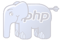 Eléphant PHP transparent